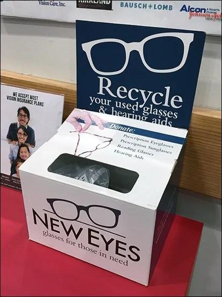 New Eyes Recycles Eyeglasses At Costco