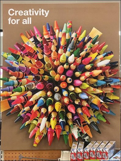 Creativity For All Pencil Burst 2