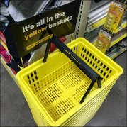 Dollar General Its All In The Yellow Basket Branding CloseUp