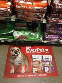 EverPet Dog Food Floor Graphic 4