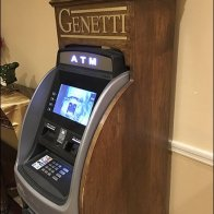Genetti ATM In Fine Crafted Wood 2