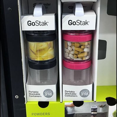 Gravity Feed GoStack Corrugated Display 3