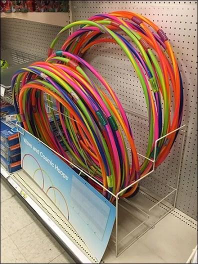 Hula Hoop Merchandising Rack 2