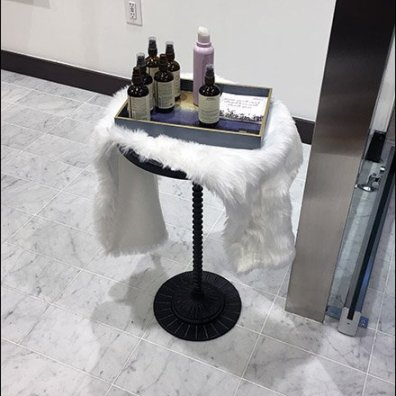 Lululemon Aveda Sample Tray Pedestal