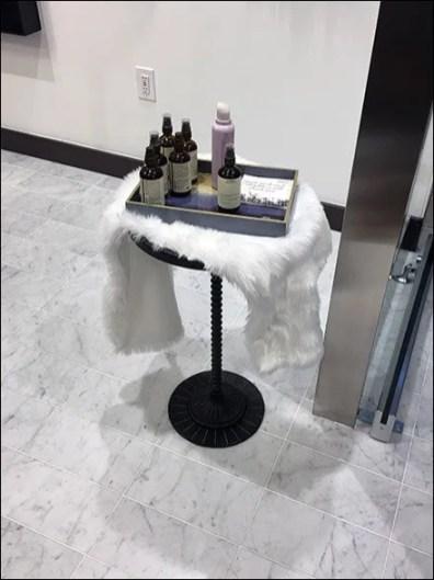Lululemon Aveda Sample Tray Pedestal