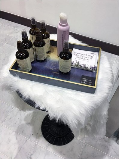 Lululemon Aveda Sample Tray Pedestal 3