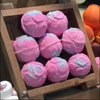 Lush Handmade Cosmetics Window Treats