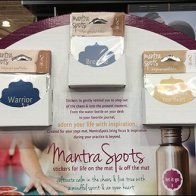 Mantra Spots Yoga Mantra Meditation Stickers Display