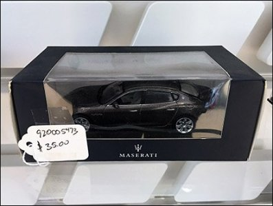 Maserati Miniature Models On Custom Slatwall 3