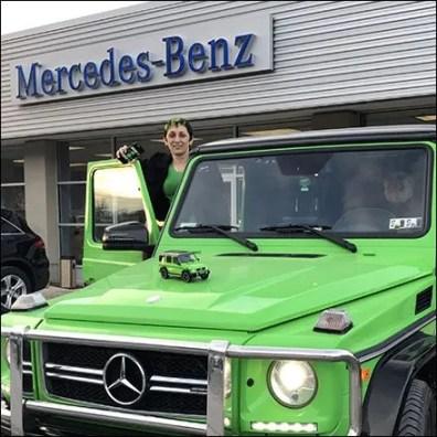G63 Miniature Mercedes Benz Merchandising