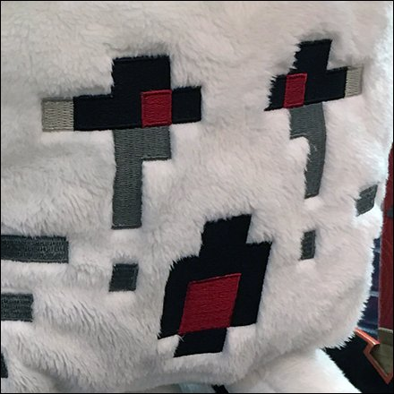 Pixelated Plush Minecraft Merchandising