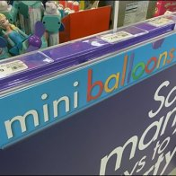 Mini Balloon Cashwrap Waiting Line Merchandisng 3