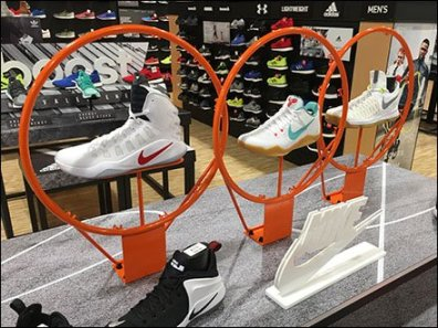 Nike Swoop Makes Basketball Swoosh