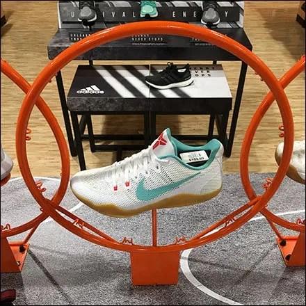 Nike Swoop Makes Basketball Swoosh