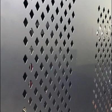 Nike Diamond Pattern Perforated Accessories Rack 3