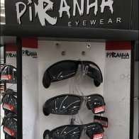 Piranha Sunglass Tall Spinner Merchandiser
