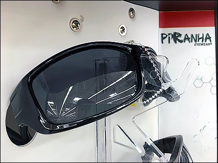 Piranha Sunglass Spinner Spire