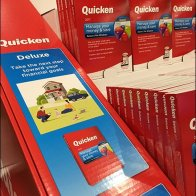 Quicken Point-of-Purchase Pallet-load Display
