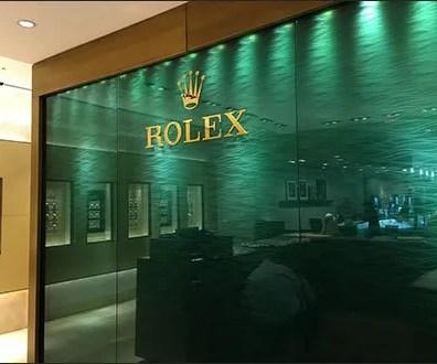 Rolex Wall Backdrop 2