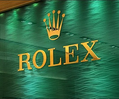 Rolex Wall Backdrop 3
