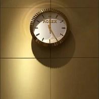 Rolex Watch as Branded Wall Clock