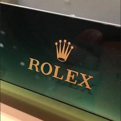 Rolex Wrist Watch Branding 3