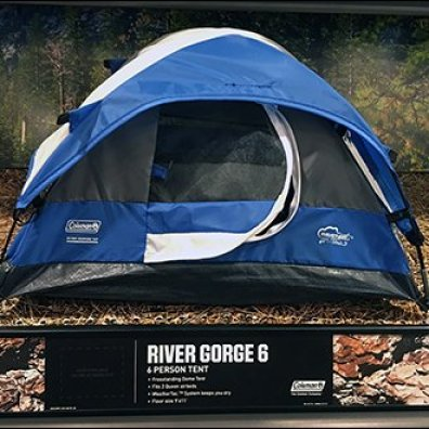Shelf-Edge Camping Tent Miniatures 5
