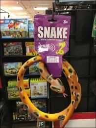 Snake Sales on 90º Tip Grid Display Hook