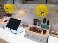 Sprint Table-Top In-Store Balloon Branding