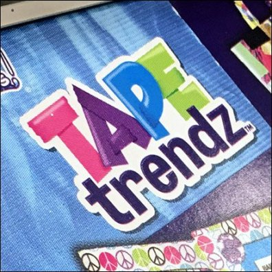 Tape Trends Freestanding Gravity Feed Rack