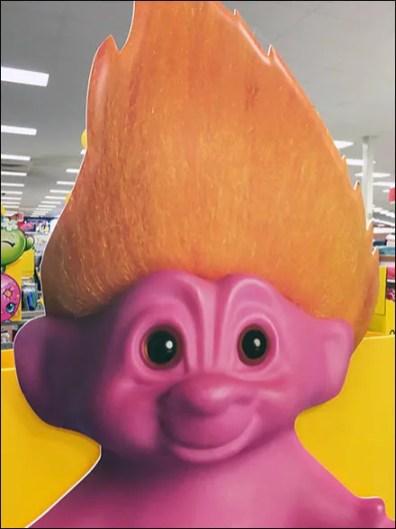 Troll Doll Foamcore Dimensional 3