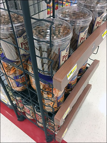 Utz Freestanding Open Wire Snack Rack
