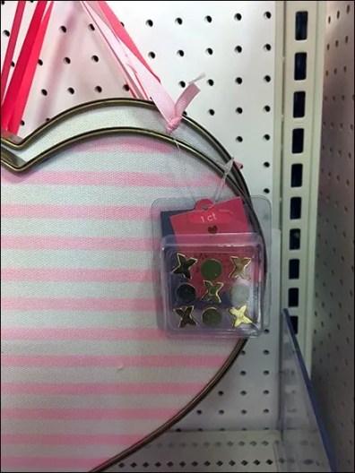 Valentines Day Seasonal Pin Pad Heart Hooked 2