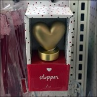 Valentines Day Wine Bottle Stopper Feature