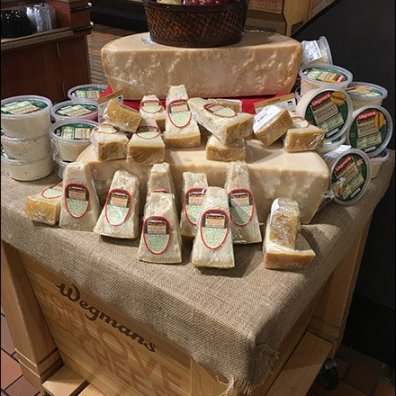 Wegmans Cheese Island Display 2