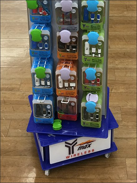 Y-Max Wireless Branded Bases Its Spinner Tower