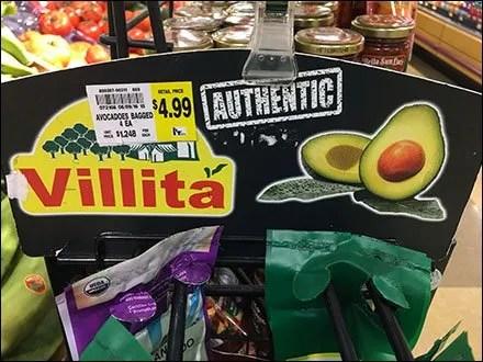 Authentic Mesh Bag Avocado Merchandising