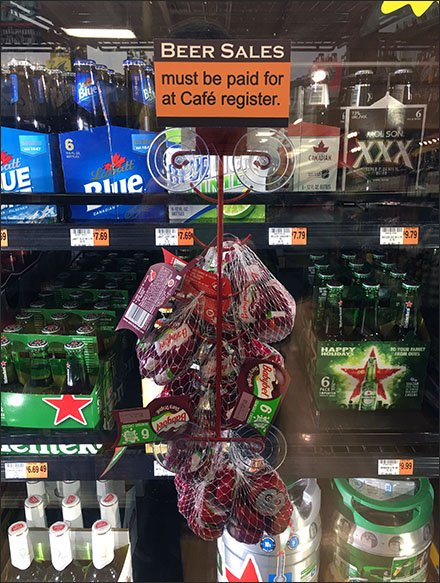 Babybel As Beer Chaser Cooler Door Sell – Fixtures Close Up