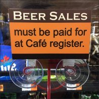 Beer Sales Checkout Cooler Door Navigation