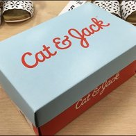 Cat and Jack Shoe Box Branding