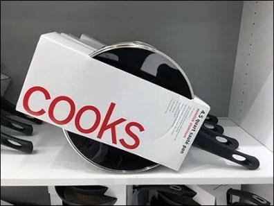 Cooks New Slant On Cookware Display