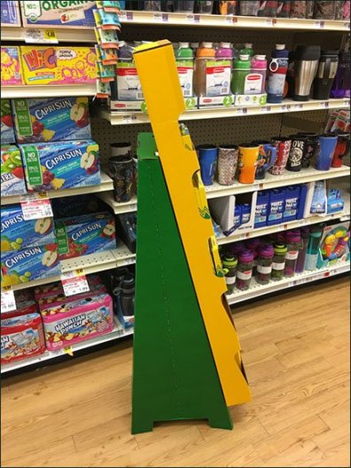 Crayola On Your List Corrugated Display 2