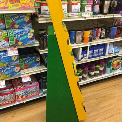 Crayola On Your List Corrugated Display 2