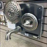 Delta Multi-Fixture Bath Shower Backplate Display 2