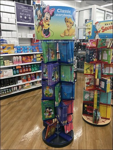 Disney Story Book Spinner Tower 3