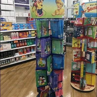 Disney Story Book Spinner Tower 3