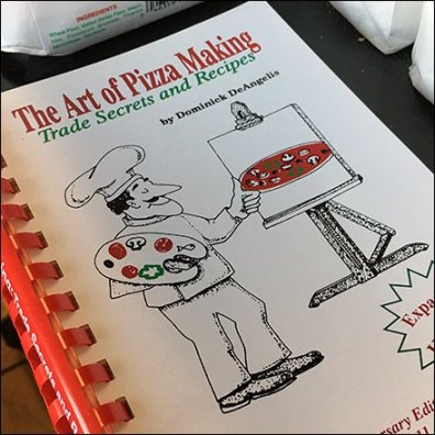 Dominick's Art Of Pizza Making Instruction Book