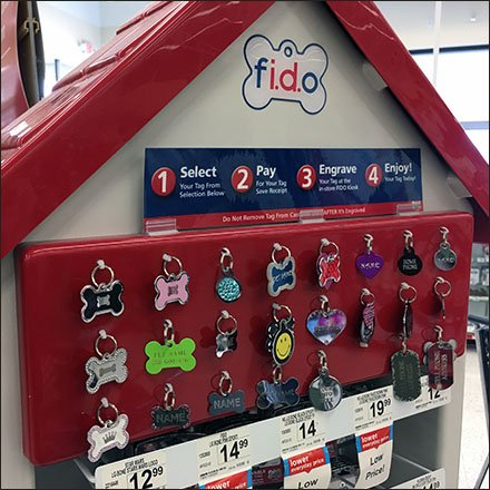FIDO Engraved Dog ID Merchandising