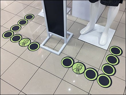 Lincoln Floor Graphic For JCPenney