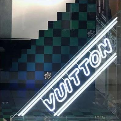 Louis Vuitton Goes Neon Feature